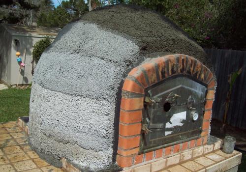 paerlite insulation nearly done