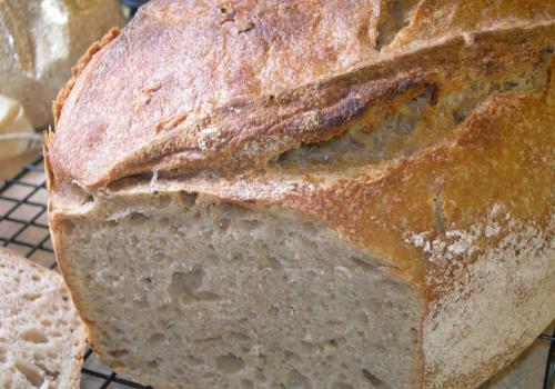 spelt barm loaf
