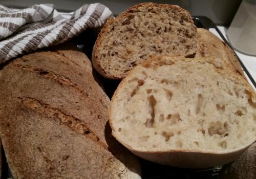 My first sourdough loaves