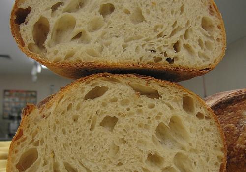 IMG_5589.JPG Crumb White Bread ~ 30% sourdough flour content Final water ~ 70%