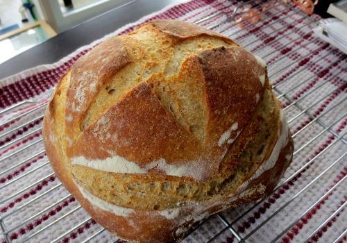 Final result - Pain blé/seigle