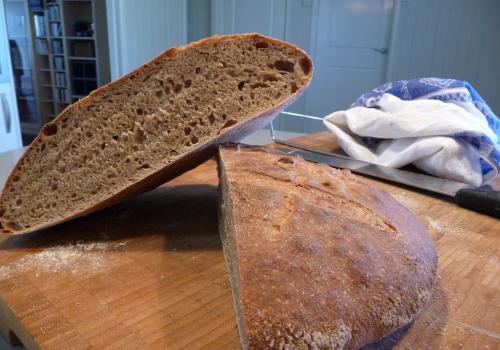 1st loaf.  Rye/spelt