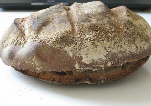 sourdough baking rupture