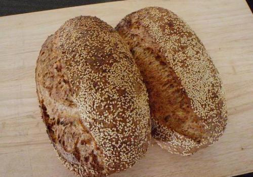 (69) 100% Wholemeal Chia Sourdough, using Four Leaf's 85% Light Flour, June 2010