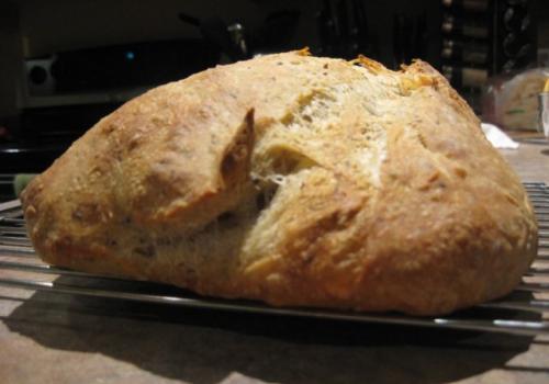 my first sourdough loaf