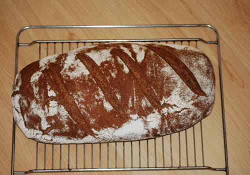 my first decent loaf