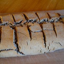 Buckwheat only sourdough - second attempt.