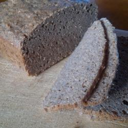 Buckwheat Pumpernickel - second loaf - crumb 1