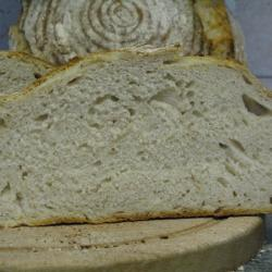 Here's the crumb- must admit I was expecting it to be more open that it turned out.