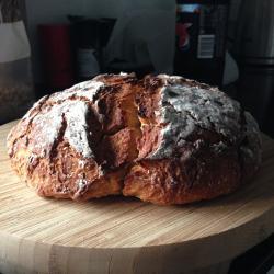 Last loaf baked
