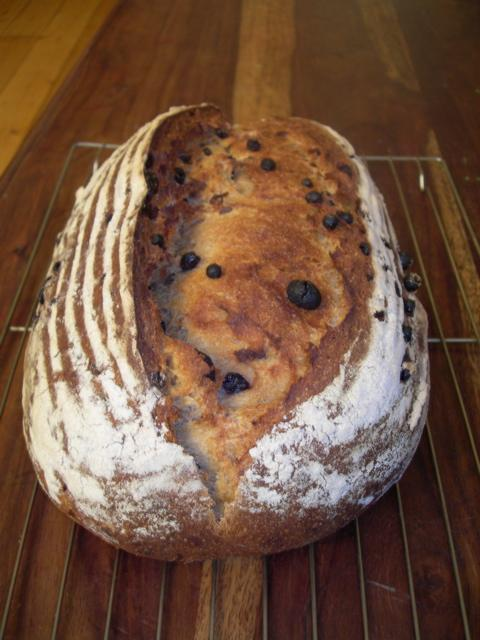 Raisin Bread Basic Fruit Loaf Sourdough